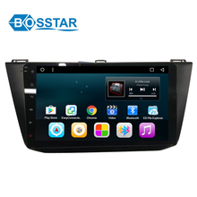 10.1inch 2din android 6.0 car DVD gps navigation car stereo player with wifi/bluetooth for VW TOURAN 2016