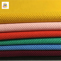 Wholesale Stock lot 100% Cotton Knit Breathable Pique Fabric