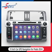 Quad Core 9 Inch Car MP3 Player With Mirror Link/GPS Navigation/Radio