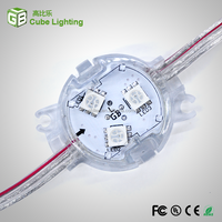 30mm Diameter Led Point Light Source IP67 Waterproof shockproof For construction outer lighting