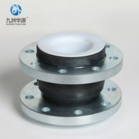 2018 high quality PTFE single sphere rubber expansion joint with concessional rate