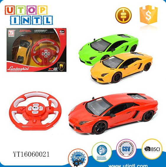 40MHZ Radio control car racing game toys for kids steering whee remote rc car