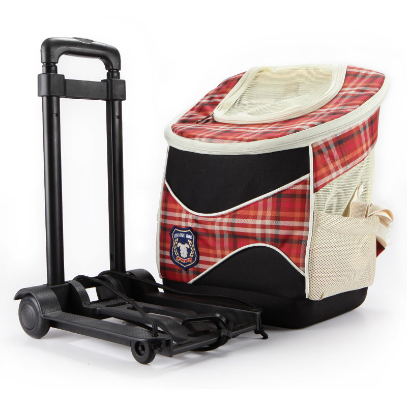 Foldable trolley pet product