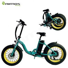 30KM/50KM Foldable Electric Scooter Aimos Mobility folding electric bike lithium rechargeable battery bicycle