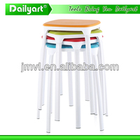 (V052007) Colourful kitchen living room plastic bottom for chairs and bar stools