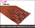 Hot selling clip in human hair extension Vietnam hair