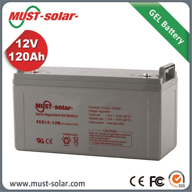 Must Maintenance Lead Acid battery 12v 100ah gel battery 12v 100ah li ion battery