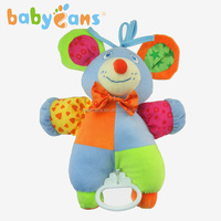 Best selling toys 2015 cute plush bear toys pull string music boxes infant toys