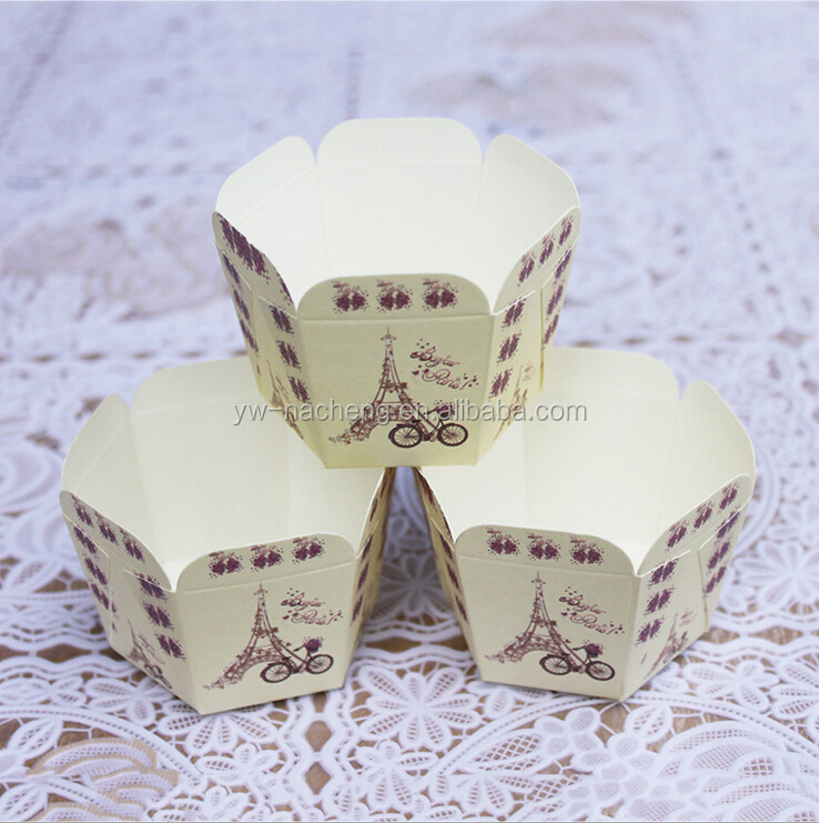 High quality disposable paper muffin baking cups