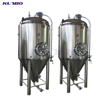 KUNBO High Quality Industrial Conical Fermenter Fermentation Tank