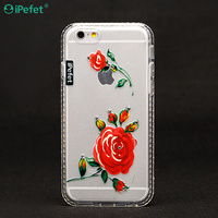 New style printing design TPU mobile cell phone case ,frame with diamond TPU case for iPhone 6/S