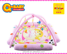 NINIYA Plush baby play mat 2015,electronic musical toy play mat baby with sides