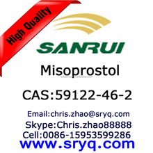API-Misoprostol, High purity cas 59122-46-2 Misoprostol