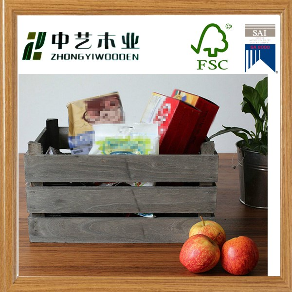 BSCI AND FSC cheap wooden wine shipping crates for sale