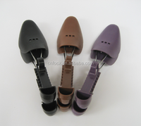Hot selling plastic adjustable shoe tree /stretcher