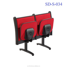 SD-S-034 Movable Design Attach School Classroom Study Table Chair Bench For University Students