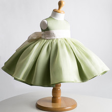 New Fashion Autumn Fat Baby Girl Party Prom Dress For 1-6Years old