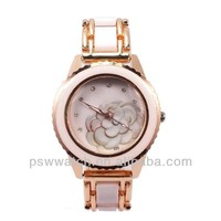 Fashion unique watch dial Japan quartz movt stainless steel back vogue lady watch