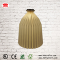 Decorative folding paper led lantern collapsible