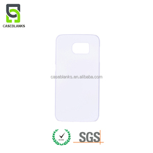 soft touch 3D heat sublimation blank cell phone case for samsung s4 s5 s6