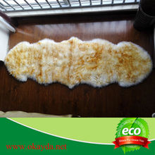 Decorative,Home,Bedroom,Hotel Use and Lines Style real fur rug