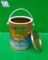 1.1gallon good quality mini small tin can/container for sale