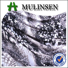 Mulinsen Textile Hot Sell Cheap Knit Polyester FDY 4 Way Stretch Sexy Animal Print South American Fabric for Garment