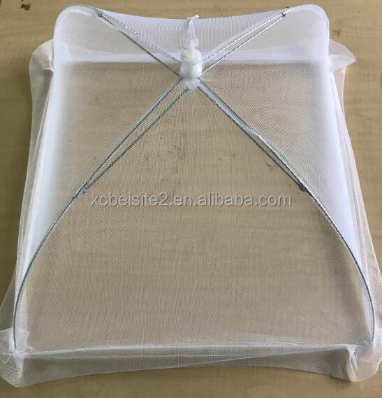 The new high-grade folding table food cover net round mesh food cover picnic food cover