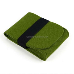 Cheap promotional products China felt travel mobile charger bag