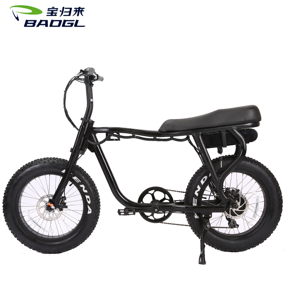 Factory supplier China e bike 2017 electric bicycle 48V 1000W brushless gearless motor electric fatbike