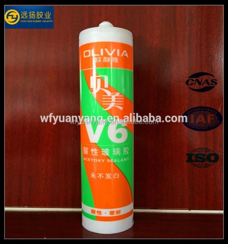Nail-free one component general purpose rtv silicone sealant