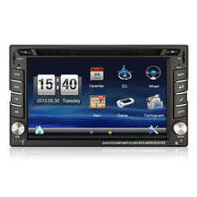 2din win ce 6.2'' car dvd player/car stereo radio for universal car/ bluetooth gps radio swc rear camera input aux in