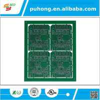 Professional 4-layer Industrial Control PCB with Red Solder Mask