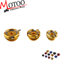 Motoo - RIZOMA Motorcycle ENGINE OIL FILLER CAPS For HONDA YAMAHA kawasaki Ducati triumph