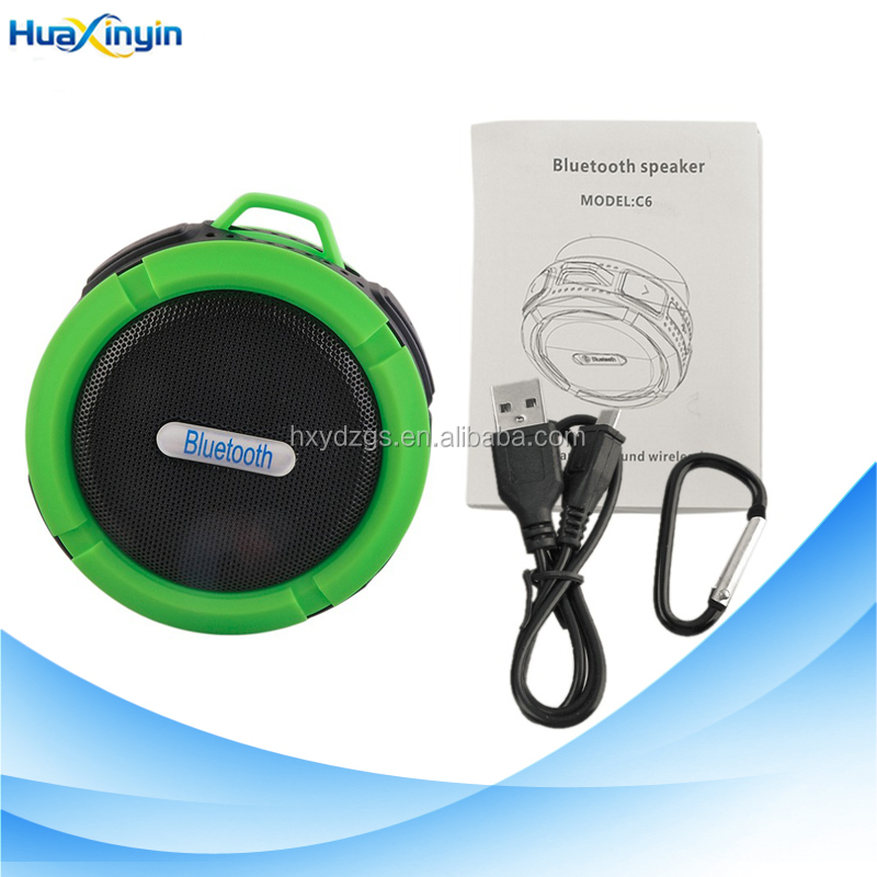 rugged mini speaker round shape ,portable round wireless speaker perfect sound stereo music surround player
