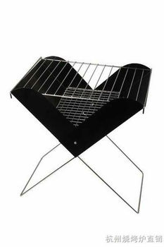 Charcoal bbq wire rack Barbecue grill stand