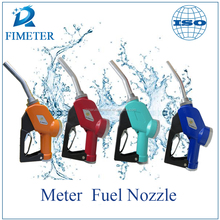 Made in China automatic kerosene fuel dispenser nozzle, hand operated oil gun, lcd display meter nozzle