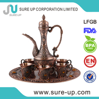 China wholesale market arabic tea jug coffee jug with sticking jewel(su-W2-01DQ4)