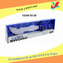 Light up delicate plastic sword toy