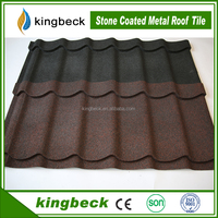 Wholesale Chinese style sand coated metal roof tile /stone coated steel roofing sheet