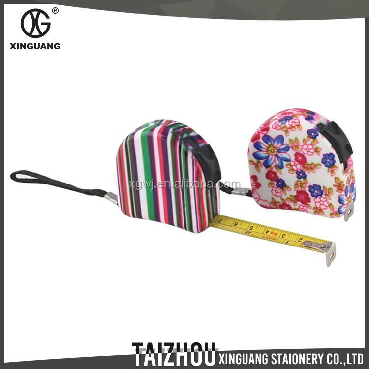 hot selling Fancy design creative floral roller tape measure