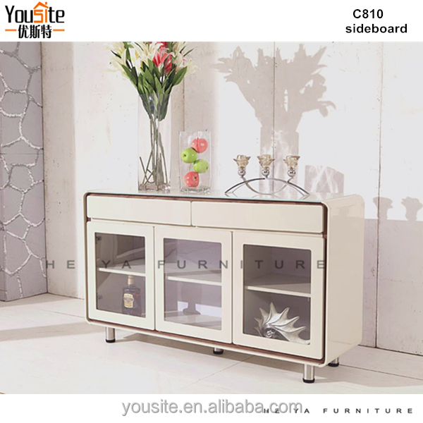 china modern furniture used kitchen cabinets craigslist glass sideboard