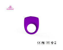 Powerful vibrating cock ring male sex water toy with CE certification