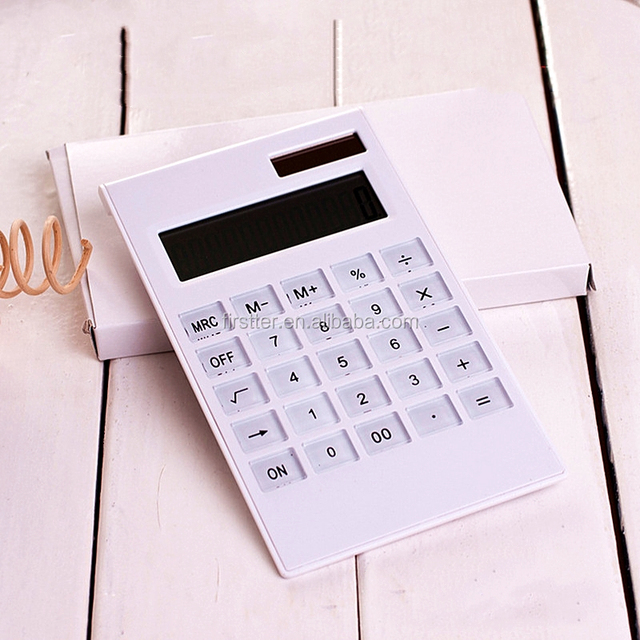 Wholesale Office Scientific Calculator, Ultra Thin Solar Calculator lcd Display