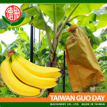 Deguo Banana growing protection brown kraft paper fruit cover bag