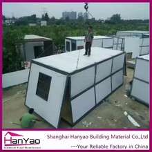 Sandwich Panel Steel Structure Container House 40Ft Portable House
