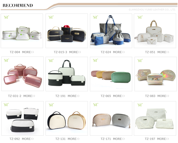 Wholesale manufacturer makeup bag fashion glitter shiny cosmetic bag