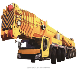 U type main boom QAY500 hot sale truck crane model made in China Yellow color one