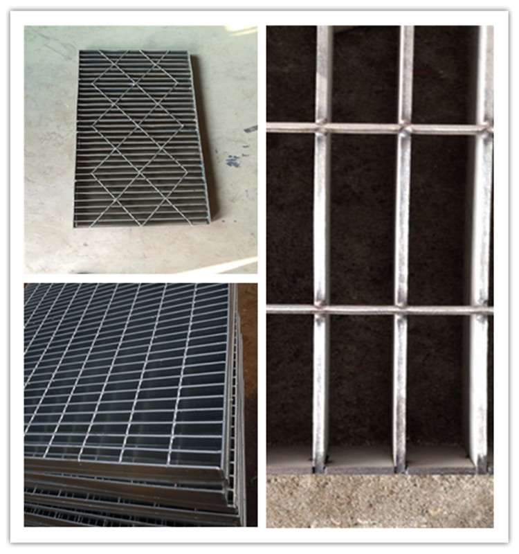 Hot dip galvanized garage floor grating