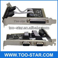 VGA PCI Express Card for Laptop Two Parallel VGA Ports PC Peripheral